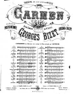 G. Bizet' s Carmen