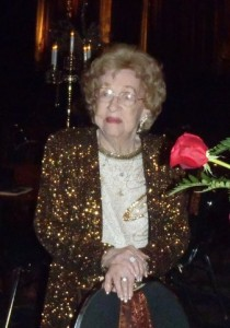 Barbara at Coronation Ball 2012